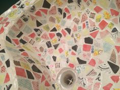 Mosaic tiles for sink