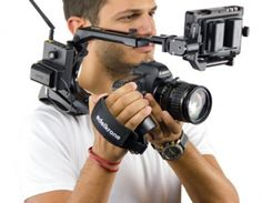 MODULA 3 EDELKRONE Rigs  So cool, Prosumer style hand grip. Camera Rig, Video Lighting, Cinematography, Filmmaking, Headset, Headphones, Photo And Video, Photography, Cameras