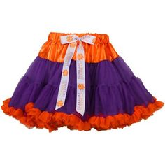 This Clemson tutu is adorable. Would be a great Christmas gift!