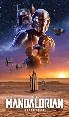 The Mandalorian Season 2 Star Wars Fan Art, Star Wars Film, Star Wars Poster, Star Wars Jokes, Star Wars Facts, Images Star Wars, Star Wars Pictures, Boba Fett, Vader Star Wars