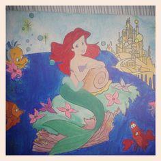 Ariel en acuarela
