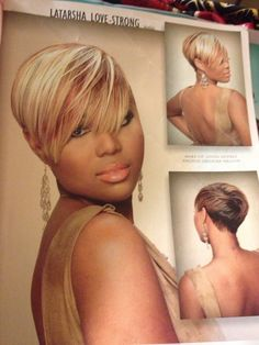 Wondrous Pretty And Simple By Loritheexlusivestylist Black Hair Short Hairstyles For Black Women Fulllsitofus