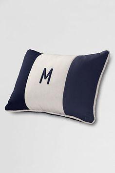 Monogram pillow $35