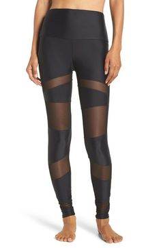 Onzie Mesh Inset Leggings available at #Nordstrom