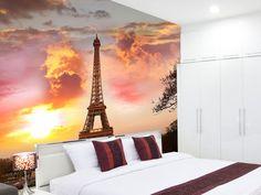 #Ταπετσαρία τοίχου με τον Πύργο του Άιφελ