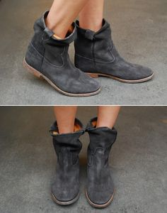 Isabel Marant Jenny Boots ... currently en route to my closet. Making a cross country trek from @lagarconne