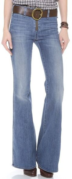 c65f99eb McGuire Denim Exposed Zip Voyage Trousers - Spring 2015 - Flared Petite Flare  Jeans, Skinny
