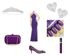 """""""Inspired by Prince"""" by karenx7 ❤ liked on Polyvore featuring Faviana, Gucci, Dolce&Gabbana, NARS Cosmetics, Vivienne Westwood and Bling Jewelry"""