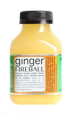 Juice Press Ginger Fireball. - I need the exact recipe please!