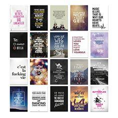 VISUAL STATEMENTS 20er Postkarten Set Nr. 1/ 20 verschiedene Postkarten / 350g Qualität / 12 x 17,5 cm VISUAL STATEMENTS http://www.amazon.de/dp/B00ZXGVLZO/ref=cm_sw_r_pi_dp_4WF3vb07J0AWZ
