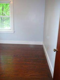 Bedroom #1    w/ hardwood floors