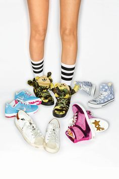 Casual: loads of sneakers for summer © Studio Condé Nast