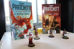 """30 jours / 30 livres : Jour 3 - Votre série de livres préférée. Pour Valérie ce sont les livres racontant """"Les annales du Disque-Monde"""" de Terry Pratchett qu'il ne faut pas rater #30DayBookChallenge"""