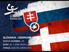 SLOVAKIA : DENMARK Bratislava, World Championship, Denmark, Youth, Handball, World Cup, Young Adults, Teenagers