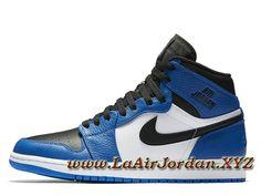 newest 29c08 a4c2b Air Jordan 1 Retro High Rare Air Royal 332550-400 Chaussures Officiel Jordan  Pour Homme