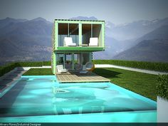 Infiniski_arquitectura sostenible_Chile by james & mau / infiniski , via Behance