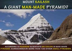 Mount kailash is giant man made Pyramid?