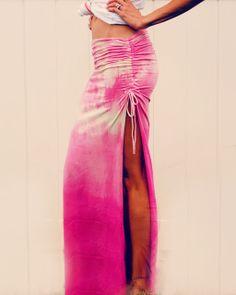DIY maxi skirt. cute for summer