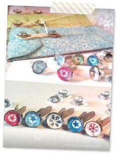Oft sind es doch die kleinen Details die demselbst gebasteltenObjekt erstden letzten Schliff verpassen, wie z. B. farblich passende Bänder, Knöpfe oder Perlen. Nun liegt es natürlich in der Natu...