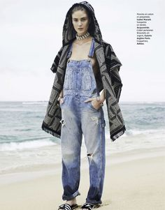 overalls - visual optimism; fashion editorials, shows, campaigns & more!: denim fétiche: lindsay lullman by alastair strong for grazia france 13th june...