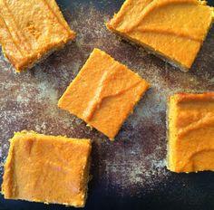 Greek yogurt pumpkin pie bars 2