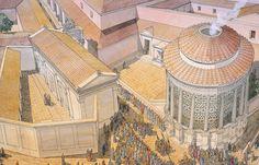 Italy - Roma (Rome) - Republic under Caesar - Temple of Vesta