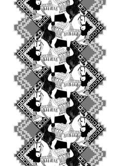 fabric Hevoset | Vallila Interior