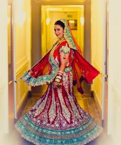 Real Brides and their Dazzling Bridal Lehengas - Yahoo Lifestyle India