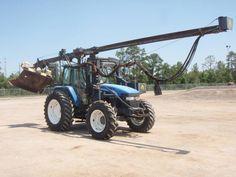 New Holland Landtechnik Traktor mit Mähwerk http://www.ito-germany.de/gebraucht/landmaschinen