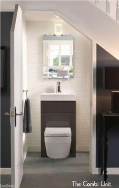 Sehr Kleines Gäste Wc sehr kleines gäste wc gestalten idee für toilette unter der treppe