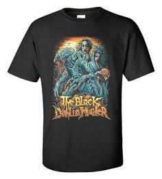 The Black Dahlia Murder Art T-shirt M/L/XL/2XL/3XL Clothing Tshirt