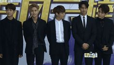 160328 #SHINee - the 23rd East Billboard Music Awards Red Carpet in Shanghai #Taemin #Minho