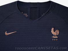 866d8b486 France 2019 Women s World Cup Nike Kits - Todo Sobre Camisetas Women s World  Cup