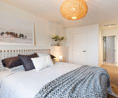 The Block NZ teams battle for the biggest prize in master bedroom week Bedroom Green, Bedroom Colors, Bedroom Sets, Bedroom Decor, Modern Rustic Bedrooms, Modern Bedroom Furniture, Contemporary Bedroom, The Block Nz, Home Bedroom Design