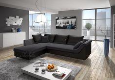 Loungebank Stof Zwart.23 Fantastische Afbeeldingen Over Hoekbanken Couches Canapes En Couch