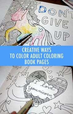 8 Creative Coloring Tips For Adult Books