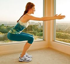 9 ways to sculpt a better, firmer butt -- at the office with these butt exercises and squats