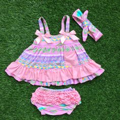 Cheap swing top table, Buy Quality top swing sets directly from China swing equipment Suppliers: 2016 baby infant outfit summer pink swing tops swing outfits with matching necklace and headband setsize:xs,s,m,l&nb