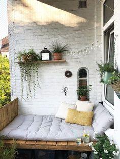 Home interior design - cozy little veranda corner. - Karla Maguire - h o m e - Ideas - Home interior design – cozy little veranda corner. – Karla Maguire – h o m e – # co - Home Interior Design, Exterior Design, Exterior Paint, Bohemian Living Spaces, Cozy Living Spaces, Small Balcony Decor, Balcony Ideas, Patio Ideas, Tiny Balcony
