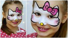 maquillage Halloween petite fille Hello Kitty