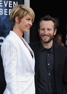"Jenna Elfman Photos Photos - Actors Jenna Elfman and Bodhi Elfman arrive at the premiere of Paramount Pictures' ""Super 8"" at Regency Village Theatre on June 8, 2011 in Westwood, California. - Premiere Of Paramount Pictures' ""Super 8"" - Arrivals"