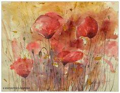 Catawiki online auction house: Krzysztof Lozowski - Poppies