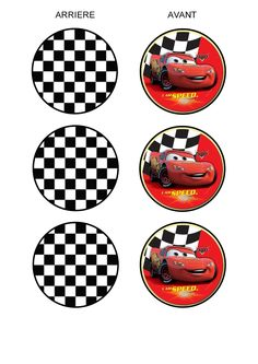 CARS TOPPERS