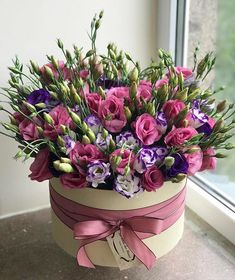 La Reine des Fleurs®️ (@lareine_desfleurs) • Instagram photos and videos Spring Flower Arrangements, Beautiful Flower Arrangements, Spring Flowers, Floral Arrangements, Beautiful Flowers, Happy Birthday Flower, Red Rose Bouquet, Acrylic Painting Flowers, Flower Boxes