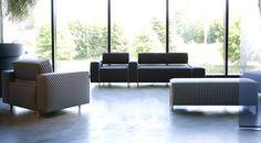 Box Wood, design Harri Korhonen Wood Sofa, Outdoor Furniture Sets, Outdoor Decor, Sofa Design, Modern Interior, Sofas, Love Seat, Couch, Box