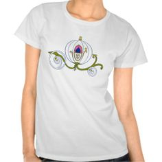 Cinderella coach carriage tee shirt #cinderella