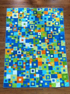 Seeing squares quilt