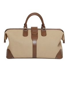 Escape On An Overnight Getaway With This Perfectly Structured Doctor Bag Handcrafted From Sy Canvas