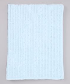 Another great find on #zulily! Blue Chenille Receiving Blanket #zulilyfinds