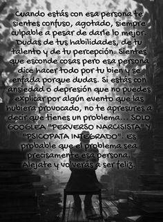 #PersonasToxicas #Maltrato #Manipulación #Mentirosos #Egoismo https://www.facebook.com/Sobreviviendo-a-psic%C3%B3patas-y-narcisistas-814803528627865/